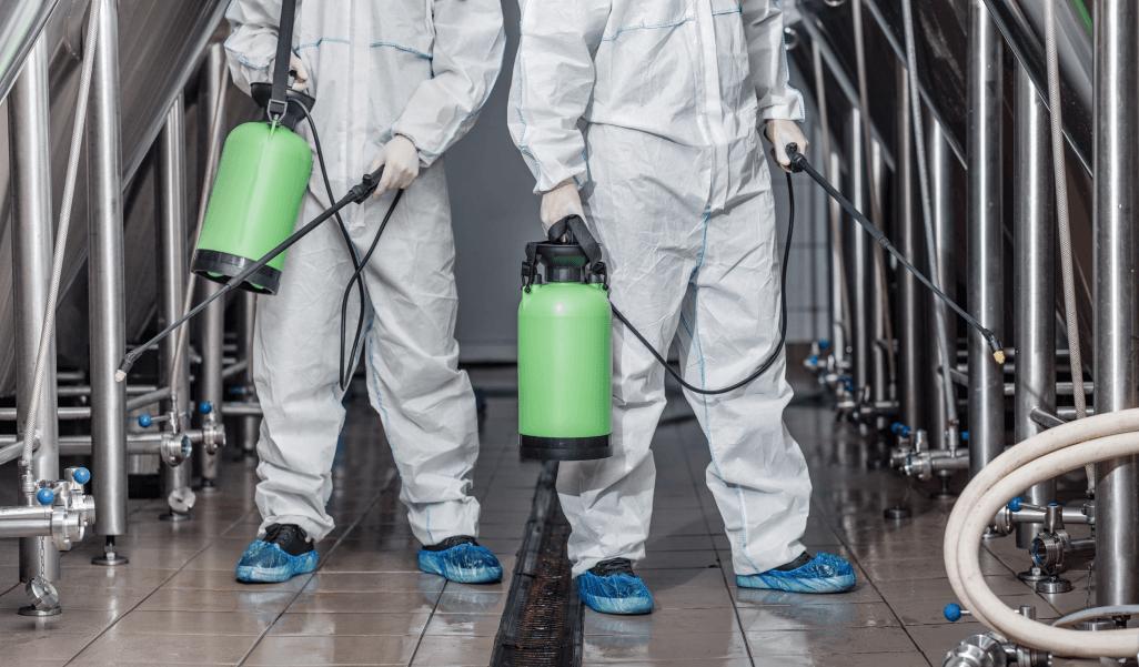 Limpieza industrial paso a paso